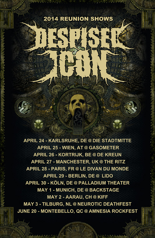DESPISED ICON - Reunion Tour